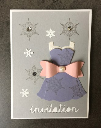 CARTES D'INVITATION CLAUDIA 2016 03 2