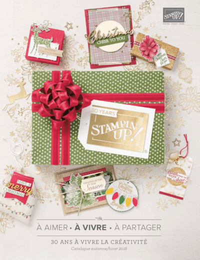 Catalogue Automne Hiver 2018 Stampin up
