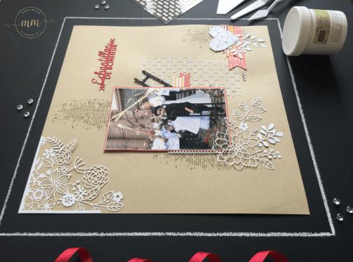 Page de scrapbooking Blaise Meyer 2018 3