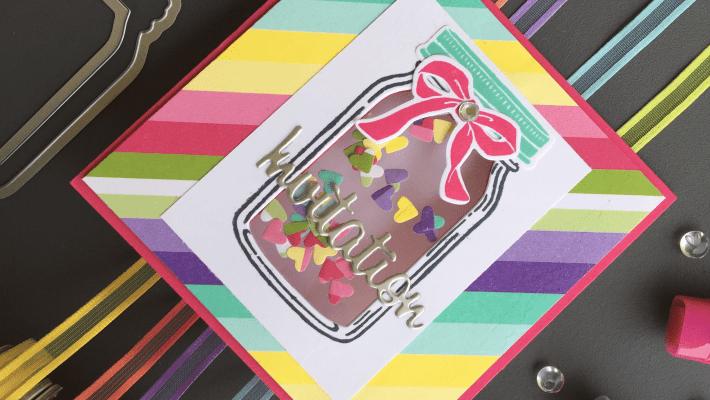 Cartes d'invitation d'anniversaire à secouer Papier design Quel délice
