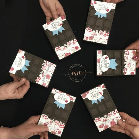 M&T Carte tablette de chocolat De tout mon coeur 2019 3