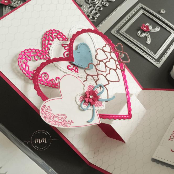 Carte anniversaire de mariage pop up Offre moi ton coeur 2019 9