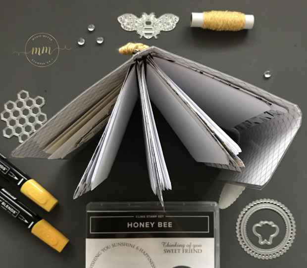 Mini carnet de voyage Honey Bee 2020 5