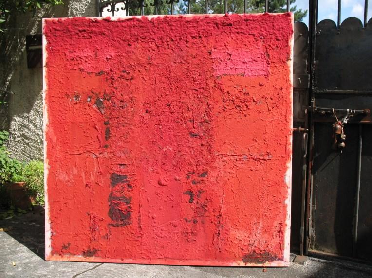 Le grand rouge - papier