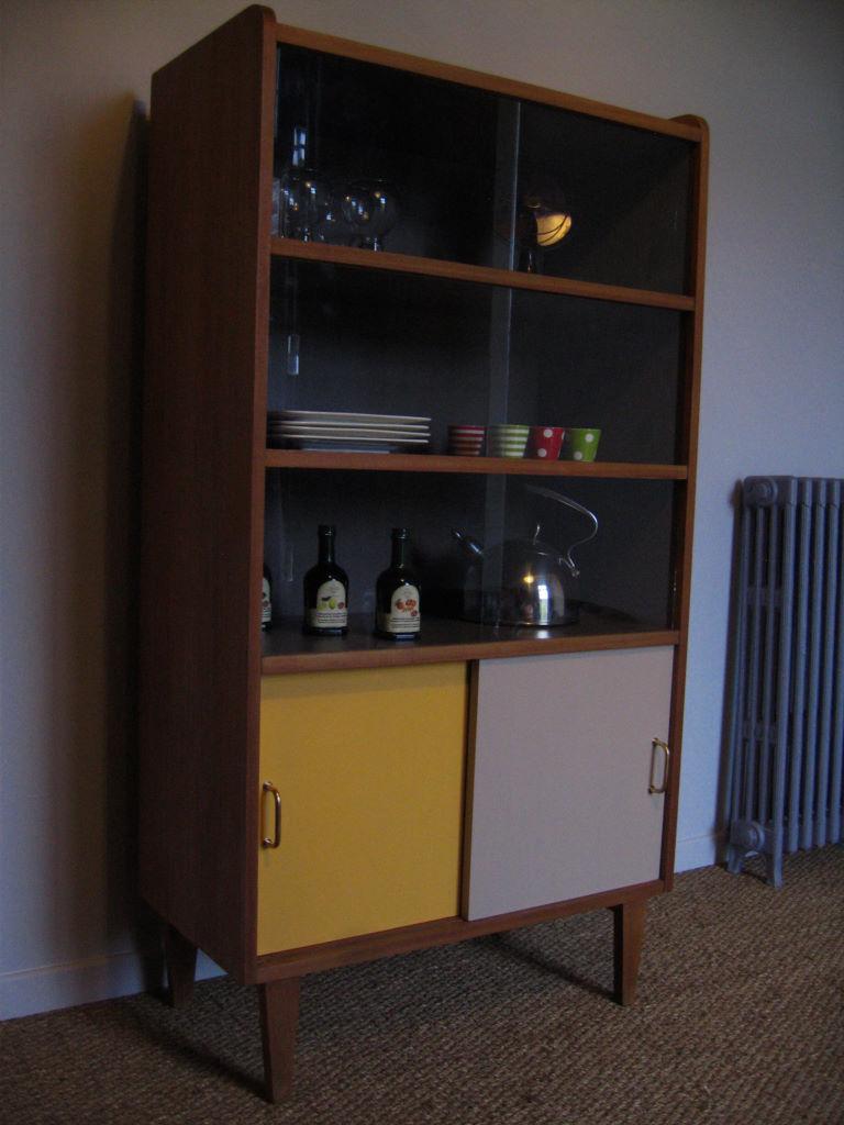 Bibliothque Annes 50 Vaisselier Vendu Atelier