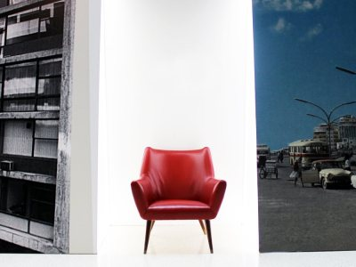 Beirut is an Ugly City / Red Chair by Assem Salam