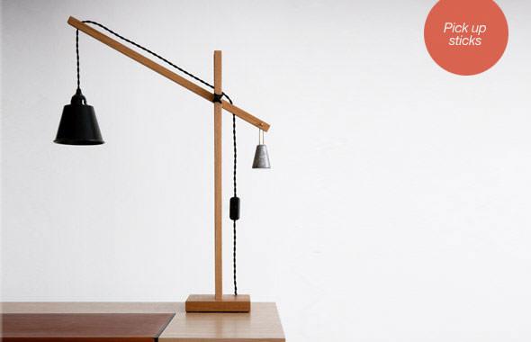 Steuart Padwick sticks desk light benchmark furniture