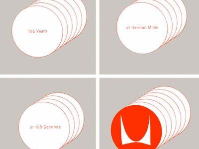 Herman Miller: 108 Years in 108 Seconds