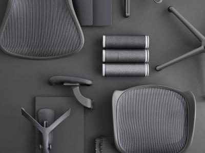 Updating a classic: the Aeron chair remastered