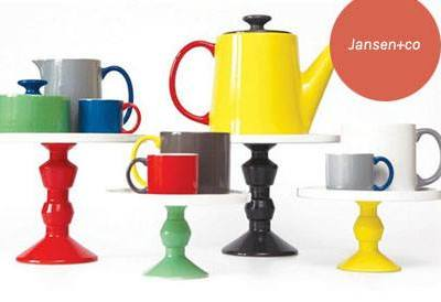 Jansen+co's Dutch table top design