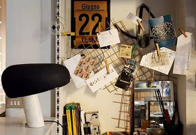 Snoopy table lamp by Achille e Pier Giacomo Castiglioni