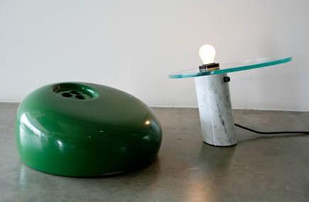 snoopy-flos-Castiglioni-green-vintage-parts