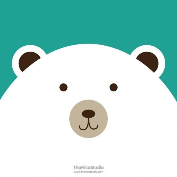 the nice studio big polar bear