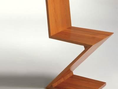 Zig-Zag chair, 1934