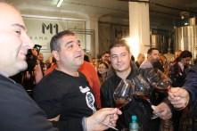 Razvan Macici in timpul unei lansari de vinuri in Crama Atelier