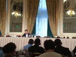Alexandre Sidorenko, prezentatorul seminarului despre Maison Chapoutier