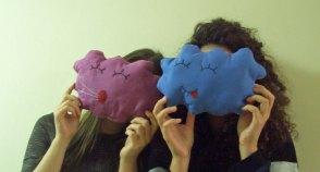 Zwei Kuschelwolken