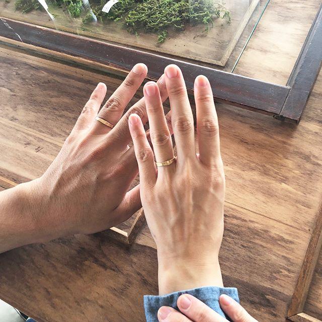 結婚指輪、熊本、オーダー、アトリエ・nest