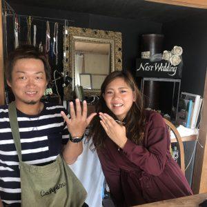 熊本、結婚指輪、オーダー、手作り、アトリエ・nest
