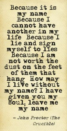 my soul my name quote