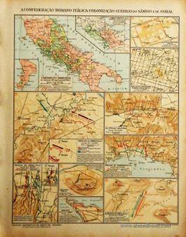 A Confederação Romana Itálica-Colonial-Guerras do Sámnio e de Anibal «€5.00»