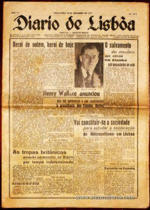 Jornal « Diário de Lisboa» «€5.00»
