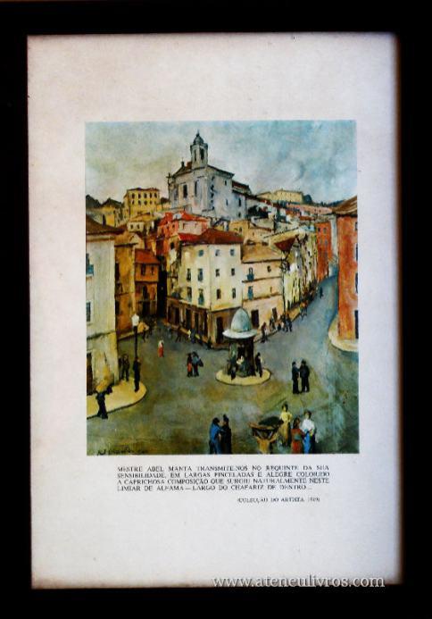 Lisboa - Limiar de Alfama - Largo do Chafariz de Dentro - Mestre Abel Manta «€15.00»