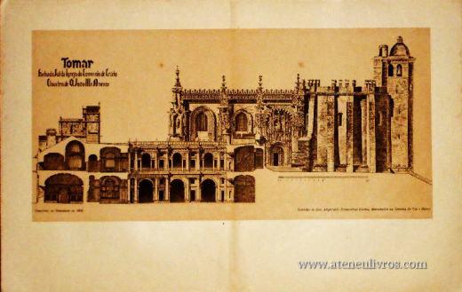 Tomar -Mosteiro de Cristo: Fachada Sul da Igreja do Convento de Cristo «€10.00»