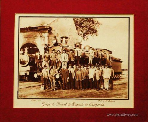 Grupo de Pessoal do Deposito de Campanhã - Lisboa - 1931 - €15.00»