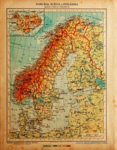 Noruega, Suécia e Finlândia «€5.00»