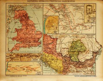 Britannia-Germania-Províncias Danubianas «€5.00»
