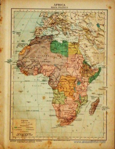 África - Mapa Político «€5.00»