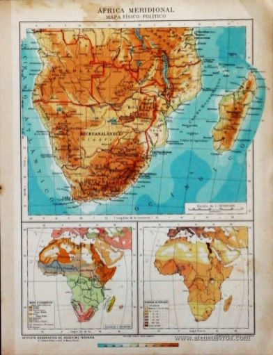 América Meridional - Mapa Político «€5.00»