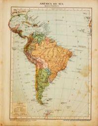 América do Sul - Mapa - Político «€5.00»
