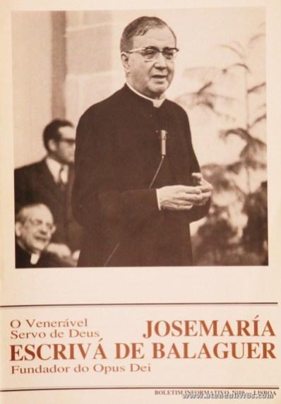 Boletim n.º 10 - Fundação do Opus Dei - 1990 - «€5.00»