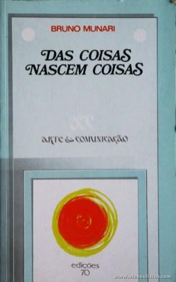 Bruno Munari - das Coisas Nascem Coisas - «€10.00»