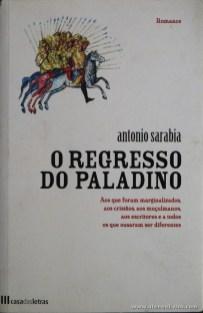 António Sarabia - O Regresso do Paladino «€5.00»