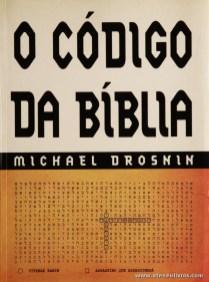Michael Drosnin - O Código da Bíblia - «€10.00»