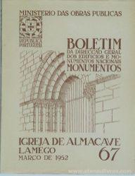 (67) - Boletim da Direcção Edifícios e Monumentos Nacionais - Castelo de Obidos - Ministério das Obras Publicas - Lisboa - 1952. Desc. 23 pág + 29 Figuras / Estampas /26 cm x 21 cm / Br. Ilust. «€20.00»