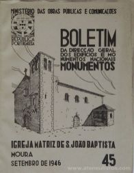 (45) - Boletim da Direcção Edifícios e Monumentos Nacionais - Sé Catedral do Porto - Ministério das Obras Publicas - Lisboa - 1946. Desc. 28 pág + 53 Figuras / Estampas /26 cm x 21 cm / Br. Ilust. «€20.00»