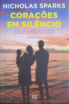 Nicholas Sparks - Corações em Silêncio - Asa - Alfragide 2016 «€10.00»