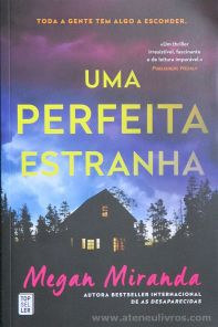 Megan Miranda - Uma Perfeita Estranha - Top Seller - Amadora - 2019 «€10.00»