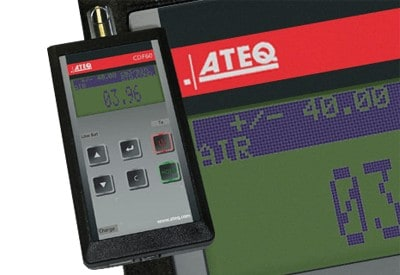 ATEQ CDF60 Leak / Flow calibrator - ATEQ leak testing gas flow meter calibration