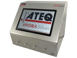 Hydra Silver is a unique, low priced, four channel leak tester designed for your application.