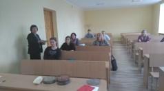 Agroverslo technologijų studijų programos studentams paskaitas skaitė profesorės Elvyra Jarienė ir Honorata Danilčenko