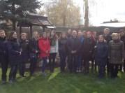 Kraštovaizdžio dizaino studijų programos studentai lankėsi japoniškame sode
