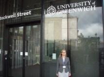 Stažuotė pagal Erasmus+ programą Grinvičo universitete