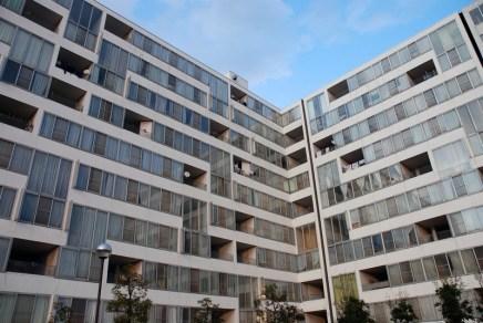 Combinación de las viviendas mostrado en la fachada (3)