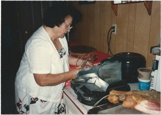Mom Slicing Proscuitto