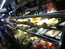The wonderful cheese selection at Monte Carlo.